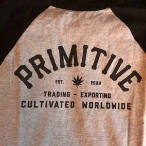 Primitive Baseball Tee w/tags